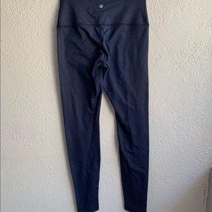 LULULEMON 6 blue ankle leggings